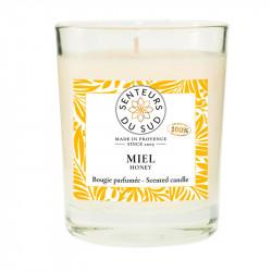 Grande bougie parfumée Miel