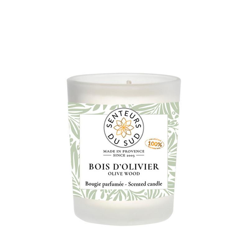 Bougie parfumée Bois d'olivier
