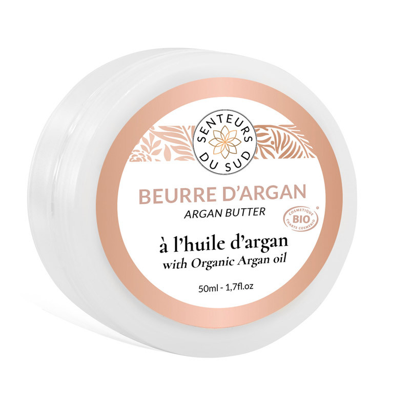 Beurre à l'huile d'argan bio
